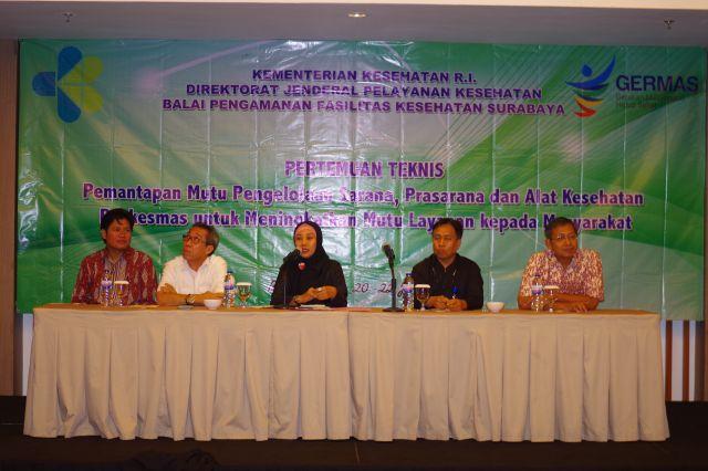 Pertemuan Teknis BPFK Surabaya